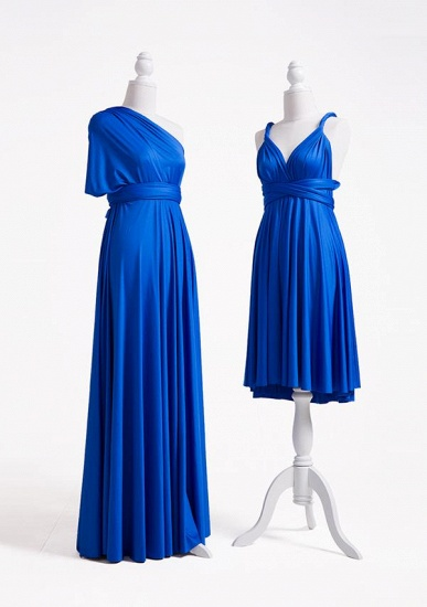 BMbridal Ocean Blue Multiple Infinity Bridesmaid Dresses Long_4