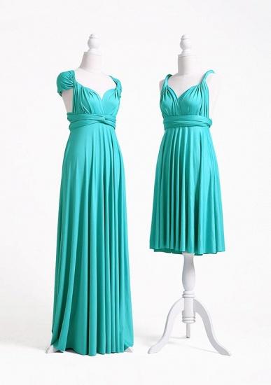 BMbridal Mint Green Multiway Ruffles Infinity A-Line Bridesmaid Dresses_3