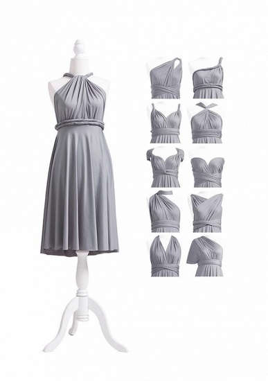 BMbridal Silver Multiple A-Line Bridesmaid Dresses_5
