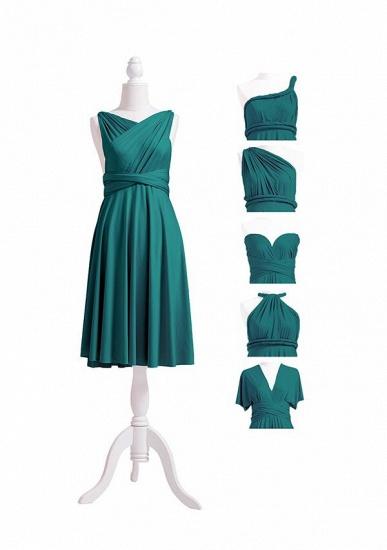 BMbridal Dark Green Multiple A-Line Bridesmaid Dresses_7