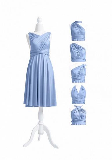 BMbridal Light Blue Multiway Ruffles Infinity A-Line Bridesmaid Dresses_5
