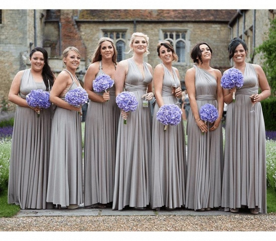 BMbridal Silver Multiway Infinity Bridesmaid Dress_2