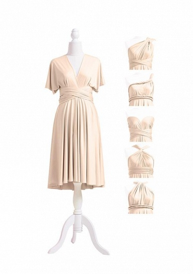 BMbridal Champagne Multiple A-Line Bridesmaid Dresses_5