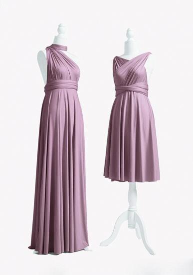 BMbridal Purple Multiway Infinity Ruffles A-Line Bridesmaid Dresses_3