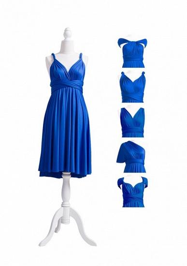 BMbridal Ocean Blue Multiple Infinity Bridesmaid Dresses Long_7