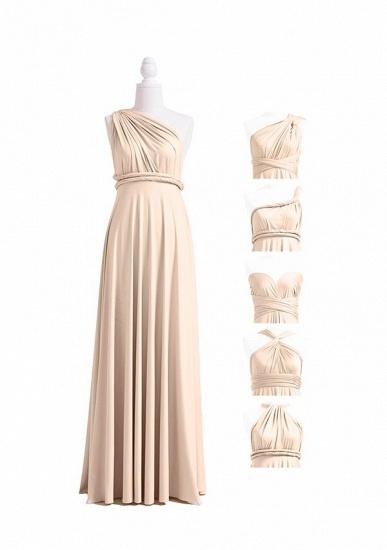 BMbridal Champagne Multiple A-Line Bridesmaid Dresses_4