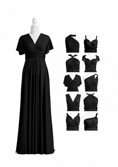 BMbridal Black Multiple A-Line Bridesmaid Dresses_4