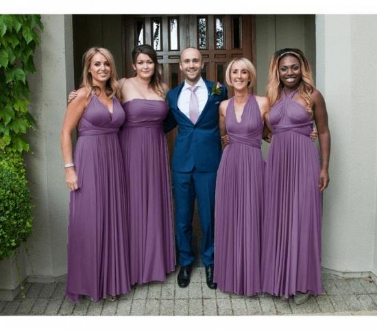 BMbridal Purple Multiple Bridesmaid Dresses Long_2