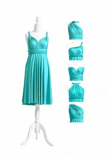 BMbridal Mint Green Multiway Ruffles Infinity A-Line Bridesmaid Dresses_5