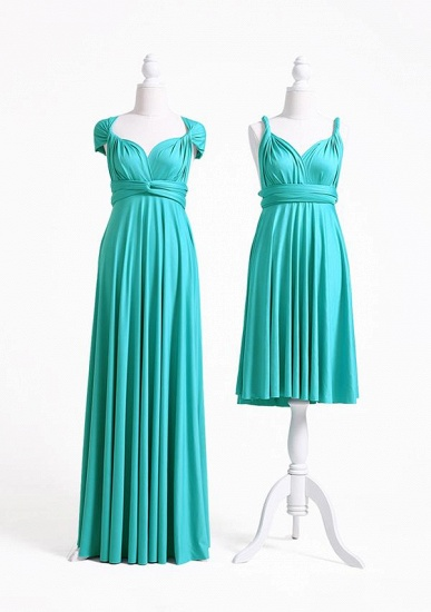 BMbridal Mint Green Multiway Ruffles Infinity A-Line Bridesmaid Dresses_2