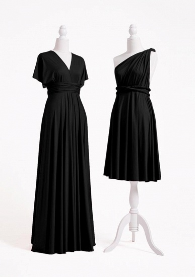 BMbridal Black Multiple A-Line Bridesmaid Dresses_3
