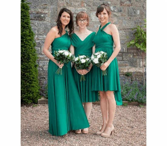 BMbridal Sleeveless Jade Multiway Infinity Bridesmaid Dress