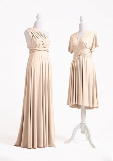 BMbridal Champagne Multiple A-Line Bridesmaid Dresses_3