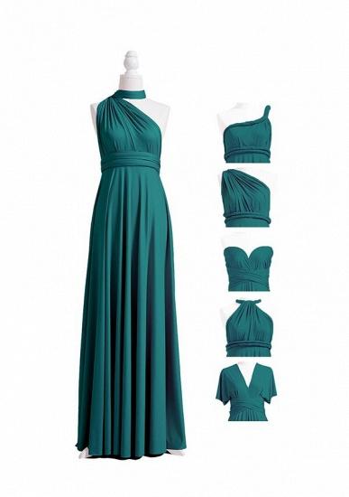 BMbridal Dark Green Multiple A-Line Bridesmaid Dresses_6