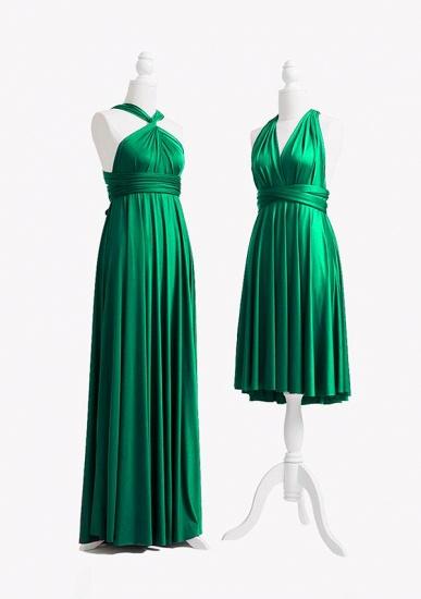 BMbridal Emerald Multiple A-Line Bridesmaid Dresses Long_3