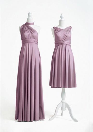 BMbridal Purple Multiway Infinity Ruffles A-Line Bridesmaid Dresses_2