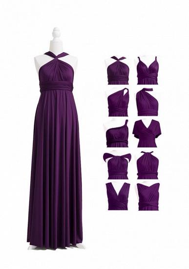 BMbridal Purple Multiple A-Line Bridesmaid Dresses_4