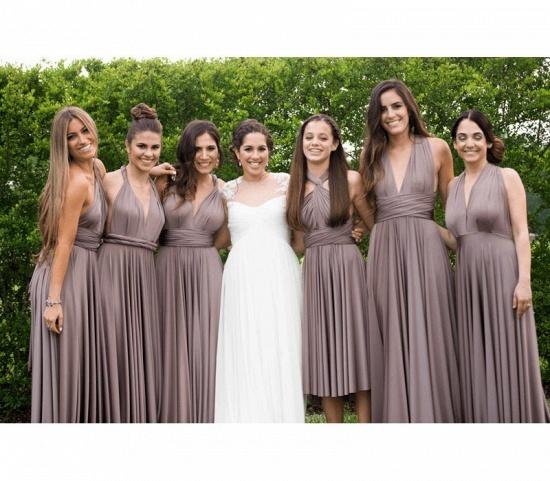 BMbridal Sleeveless Dusk Multiway Infinity Bridesmaid Dress