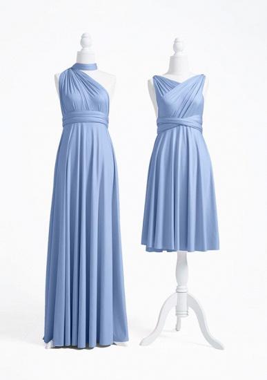 BMbridal Light Blue Multiway Ruffles Infinity A-Line Bridesmaid Dresses_2
