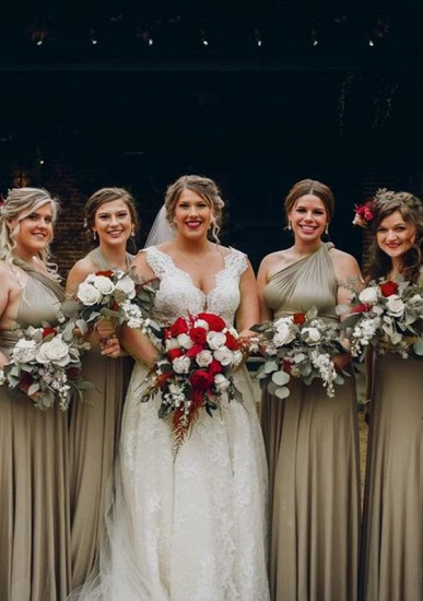 BMbridal Multiple A-Line Bridesmaid Dresses Long_1