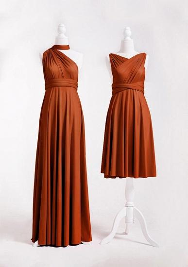 BMbridal Camel Multiway Ruffles Infinity A-Line Bridesmaid Dresses_2