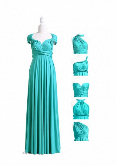 BMbridal Mint Green Multiway Ruffles Infinity A-Line Bridesmaid Dresses_4