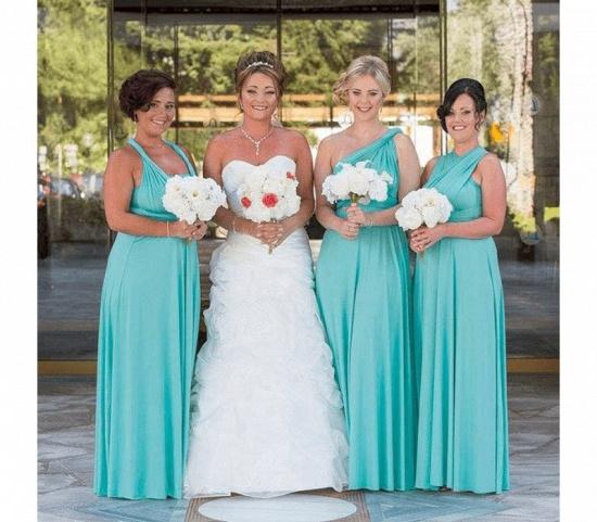 BMbridal Mint Green Multiway Infinity Bridesmaid Dress