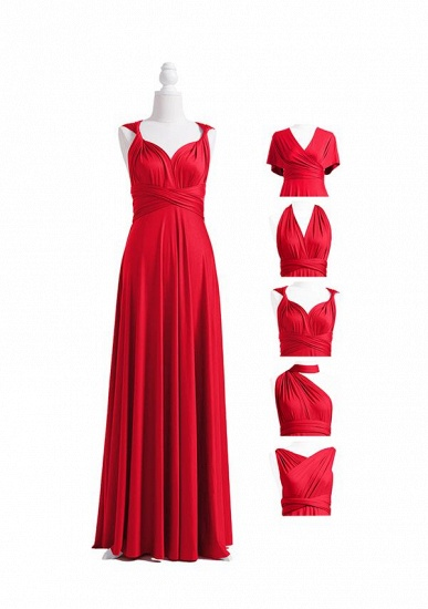 BMbridal Ruby Multiway Ruffles Infinity A-Line Bridesmaid Dresses_4