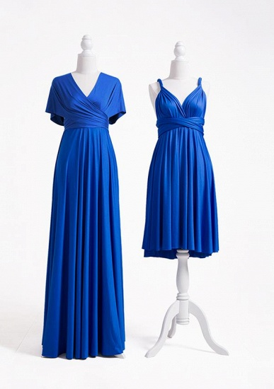 BMbridal Ocean Blue Multiple Infinity Bridesmaid Dresses Long_3