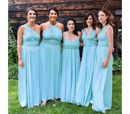 BMbridal Mint Green Multiway Infinity Bridesmaid Dress_2