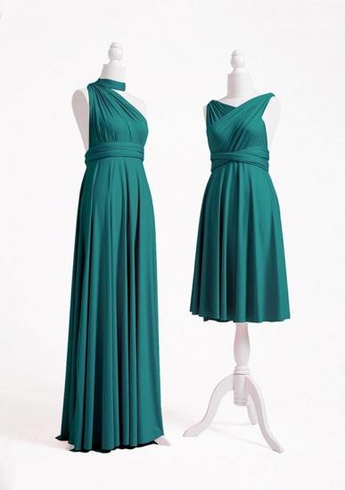 BMbridal Dark Green Multiple A-Line Bridesmaid Dresses_5
