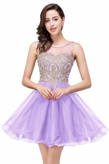 BMbridal Short A-line Sleeveless Little Black Dress Online_3