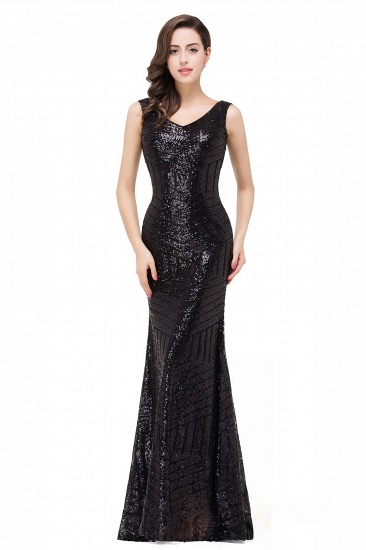 BMbridal Elegant Mermaid Prom Dress Beaded Backless Evening Dress_8