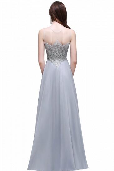 BMbridal Gorgeous Lace Chiffon Long Prom Dress_6