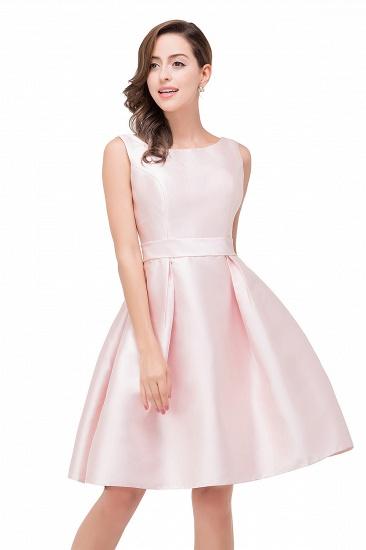 BMbridal Elegant Sleeveless Short A-Line Knee Length Prom Dress_8