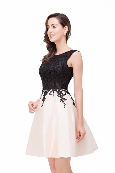 BMbridal Short A Line Applique Tutu Prom Party Dress_11