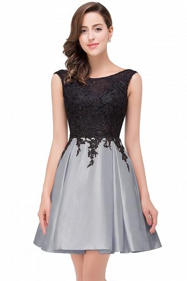 BMbridal Short A Line Applique Tutu Prom Party Dress_6