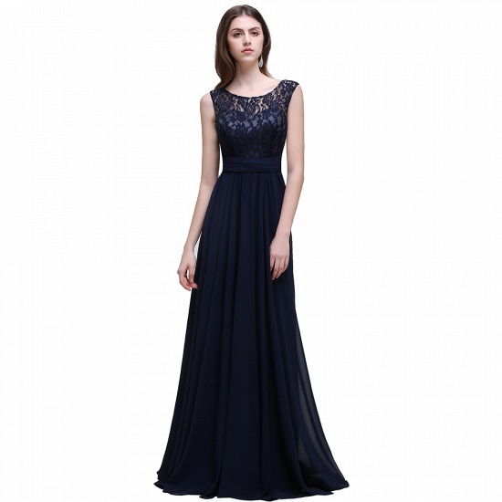 BMbridal Sleeveless Lace Long Chiffon Prom Dress Online_3