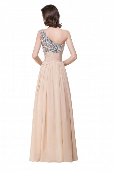 BMbridal A-line Floor-length Chiffon Evening Dress with Sequined_4