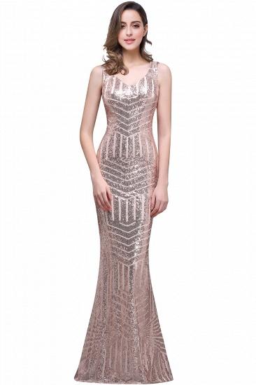 BMbridal Elegant Mermaid Prom Dress Beaded Backless Evening Dress_2