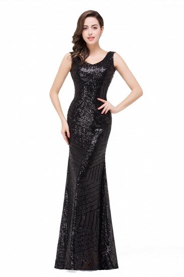 BMbridal Elegant Mermaid Prom Dress Beaded Backless Evening Dress_4