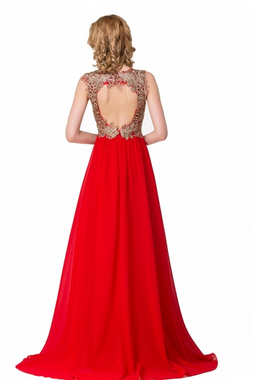 BMbridal Long Prom Lace Dress Evening Dress with Sequins_4