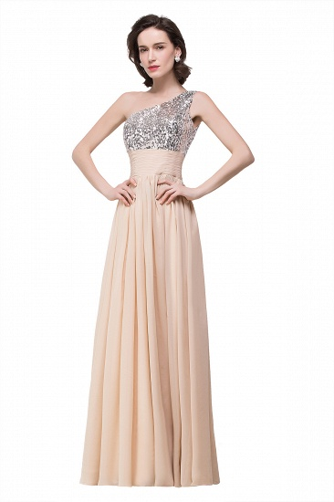 BMbridal A-line Floor-length Chiffon Evening Dress with Sequined_5