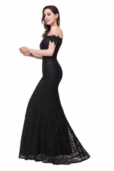 Off-the-Shoulder Lace Mermaid Prom Dress Long Evening Party Gowns Online_21