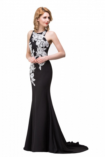 BMbridal Mermaid Evening With Appliques For Women Formal Long Prom Dress_8