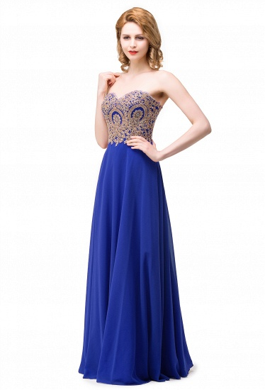 BMbridal Women's Strapless Embroidery Beaded Prom Formal Dress_1