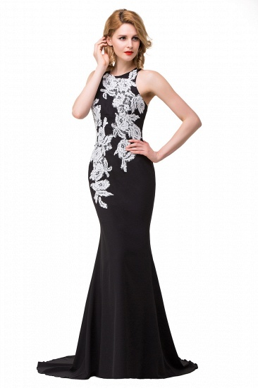 BMbridal Mermaid Evening With Appliques For Women Formal Long Prom Dress_9