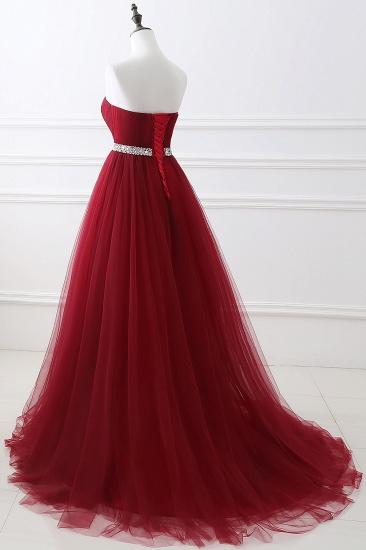 BMbridal modest sweetheart sleeveless beading a-line prom dress_12