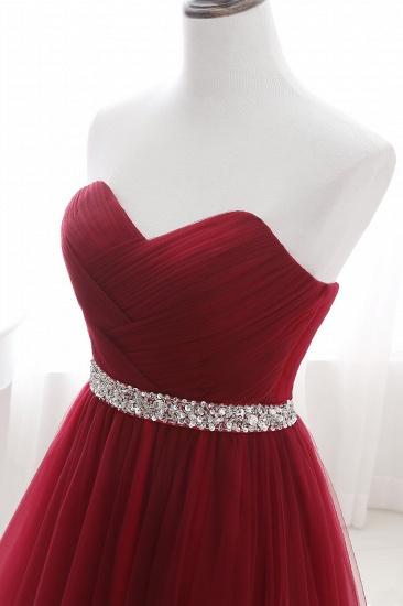 BMbridal modest sweetheart sleeveless beading a-line prom dress_13