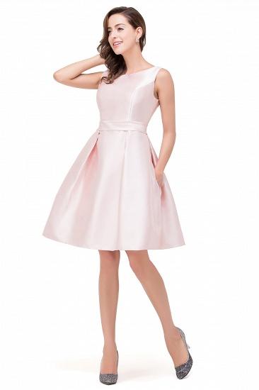 BMbridal Elegant Sleeveless Short A-Line Knee Length Prom Dress_5